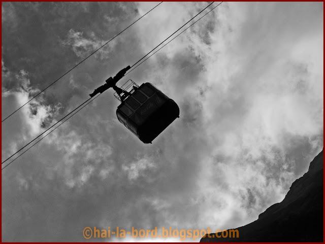 telecabina in nori transfagarasan 2008