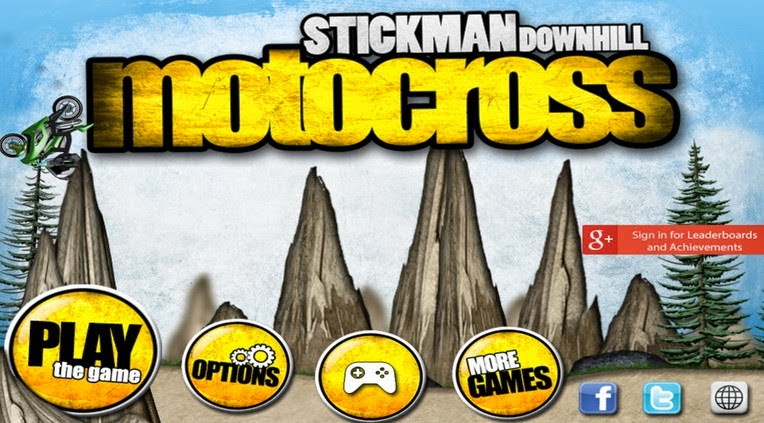 Stickman Downhill - Motocros apk