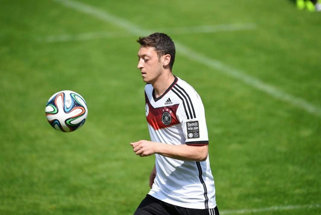 mesut ozil worldcup