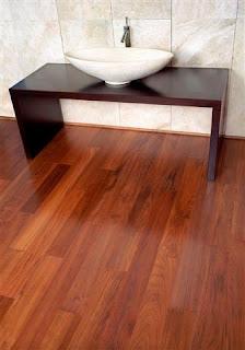 flooring jati solid