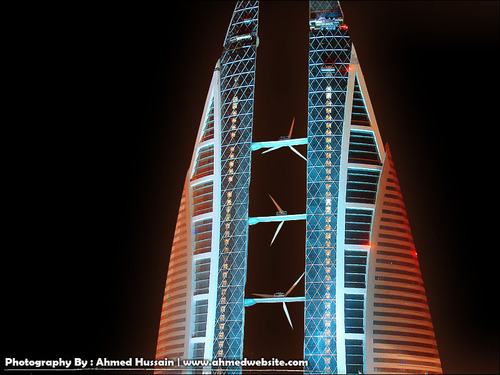 bahrain, world trade center, centre, building, architecture, awesome, cool, design, new, future, tallest, tallest building in bahrain, skyscrapers, bahrain skyscrapers
