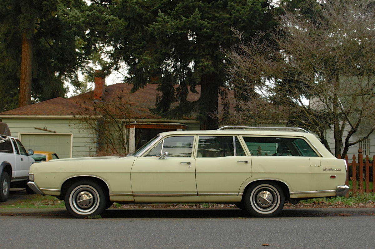 1969 Ford Fairlane 500 Station Wagon.