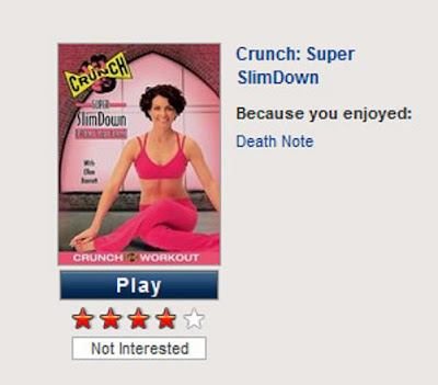 Crunch Super Slimdown DVD Cover Because you Enjoyed Death Note