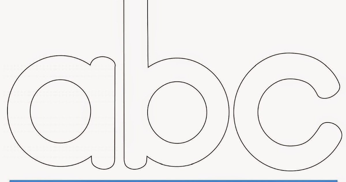 Print out letters for poster boards
