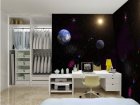 wall wallpaper-Bedroom Wall Painting-mural wallpaper photos 2