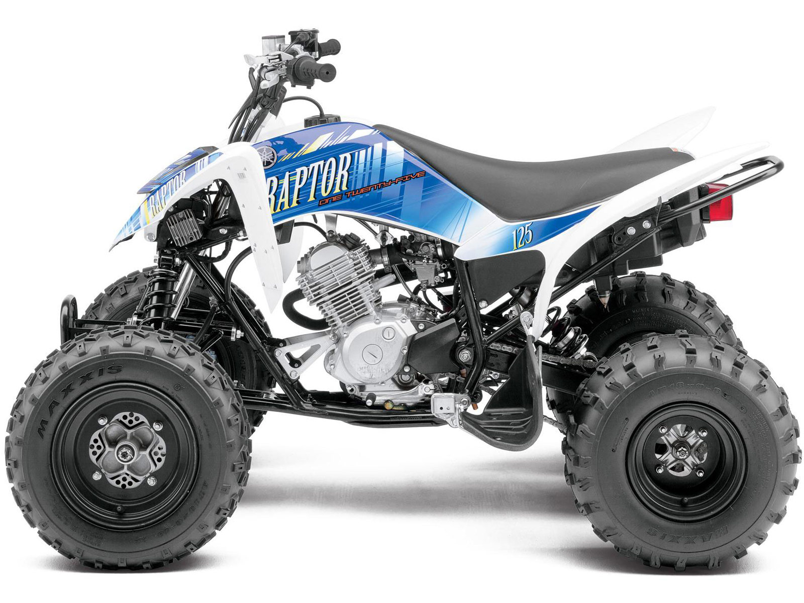 2013 yamaha raptor 125 atv pictures review and specifications