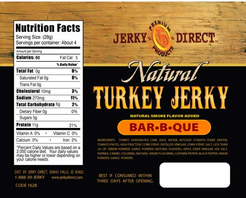 Jerky Direct Turkey Jerky