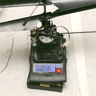 21.6g with no canopy or autopilot. & Automating the Blade MCX - DIY Drones