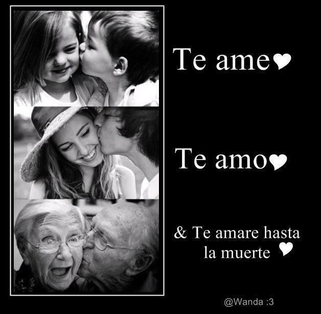Te Extraño Mucho Mi Amor Frases Lindas , Te ame - Te amo - y Te amare ...
