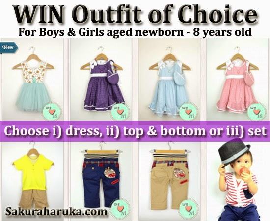 "Quote ""2015SAKURA"" for 15% OFF kids clothes & accessories Dreams Avenue storewide"