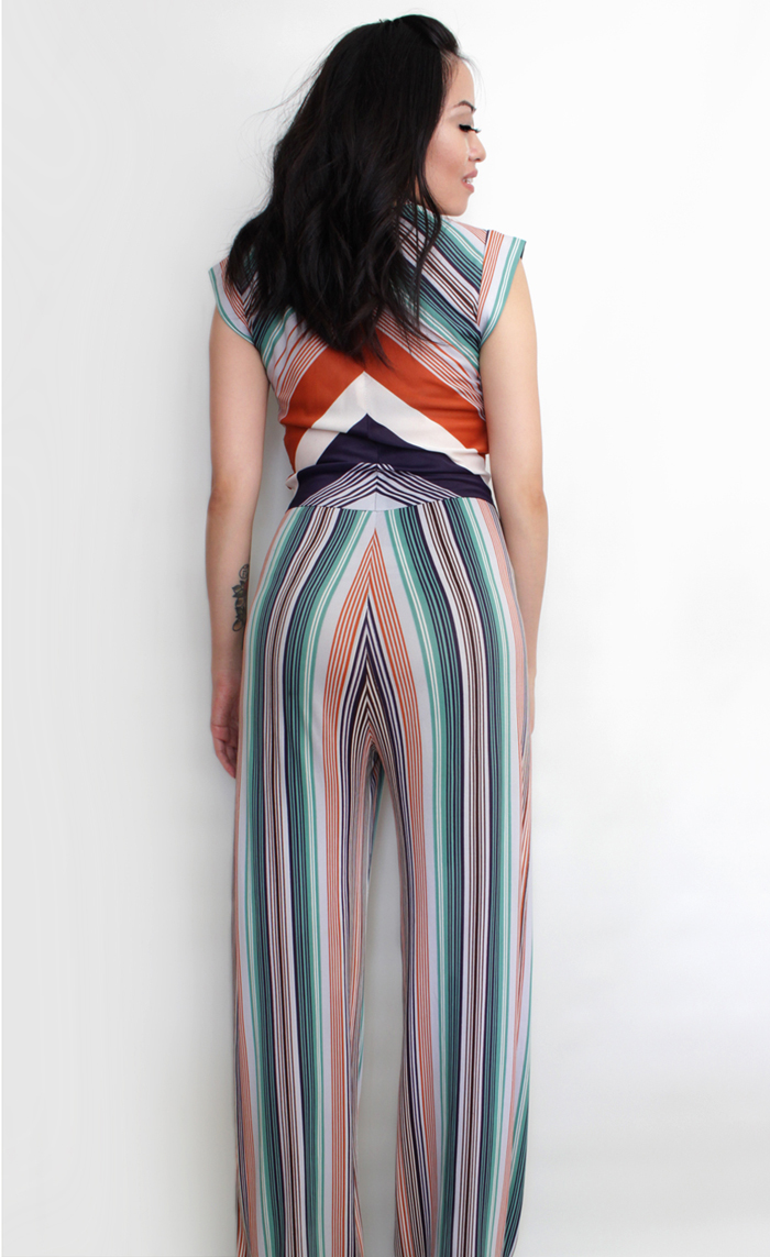 vintage 70s glam rock jumpsuit