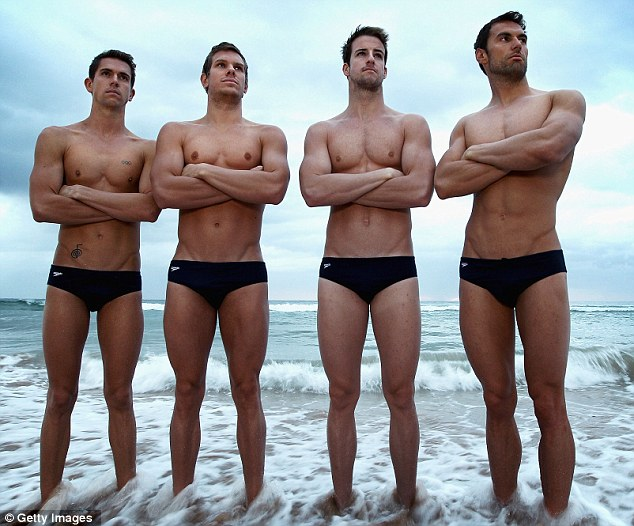 Cheri Champagne's Blog: Something British Monday #2: Olympic Swimmers