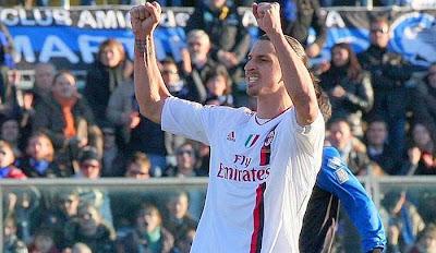 Atalanta 0 - 2 AC Milan (2)