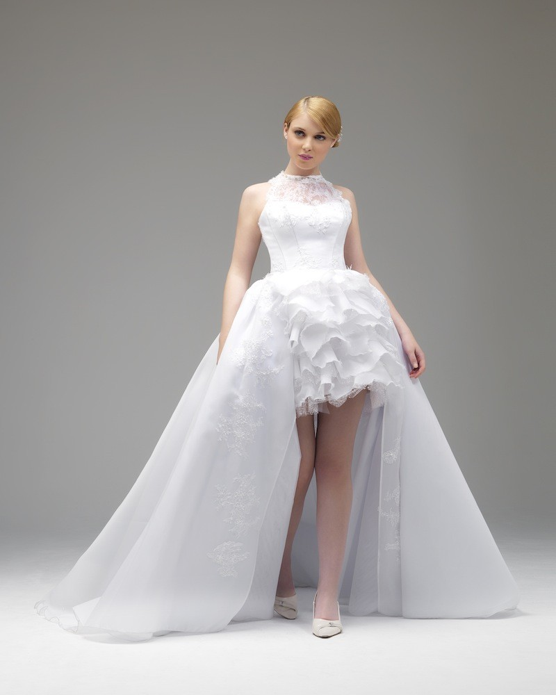 Wedding dress styles for brides and others poise passion for Wedding dress for a short bride