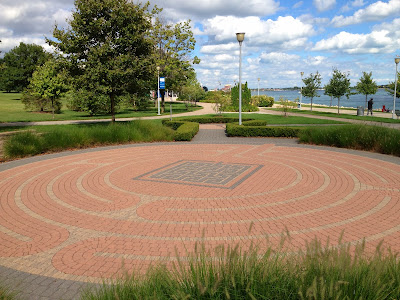 Adcraft Labyrinth Detroit River Walk Gabriel Richard Park