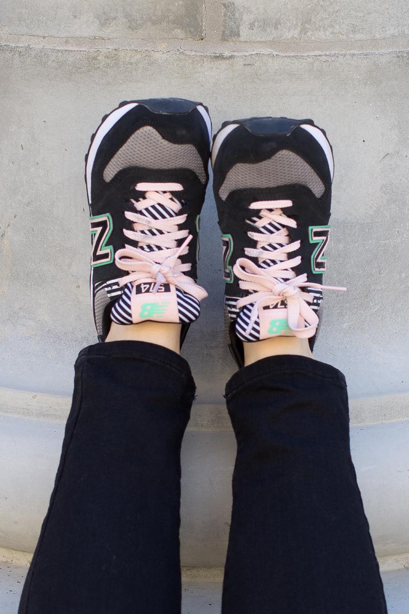 new balance pastel sneakers