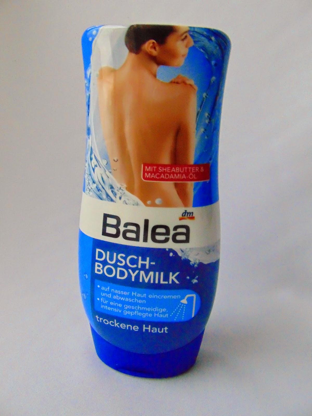 Balea Dusch-Bodymilk - www.annitschkasblog.de
