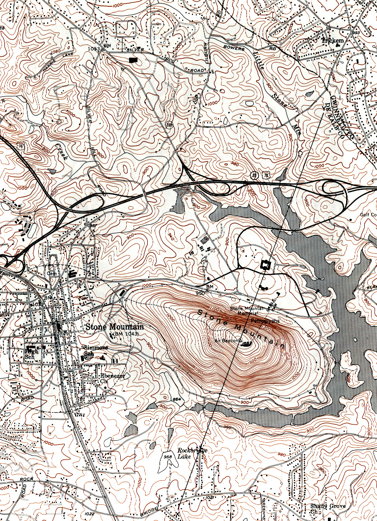 Stone Mountain Elevation Map : Mph global issues in enrivronmental health