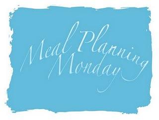 Meal Planning Monday (9 July 2012)