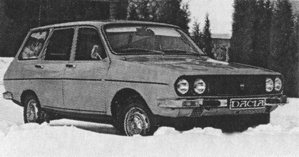 Dacia 1310 Break front view