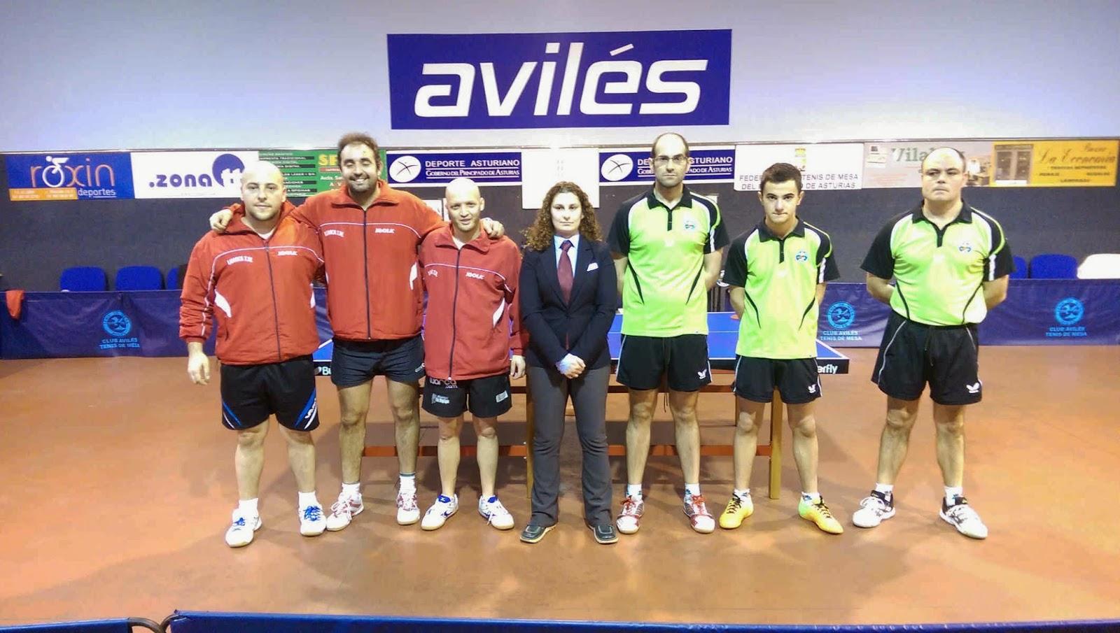 Federaci n de tenis de mesa del principado de asturias enero 2015 - Aviles tenis de mesa ...