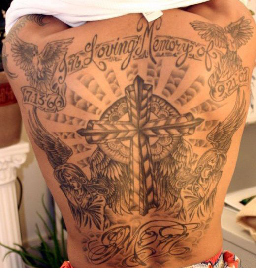 creative tattoos rip tattoos. Black Bedroom Furniture Sets. Home Design Ideas