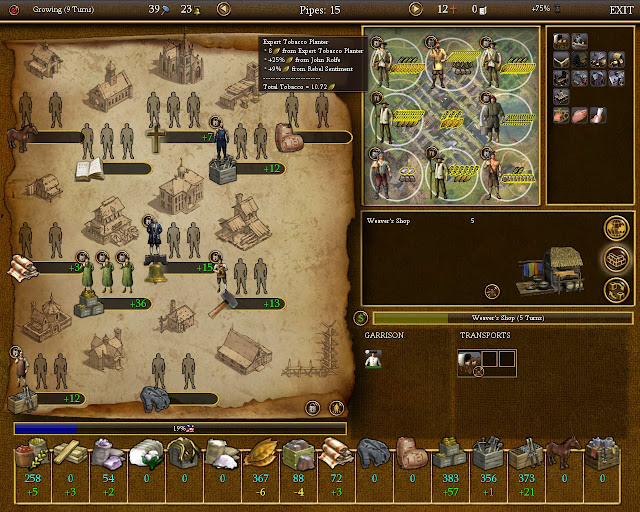 Civilization 4 Colonization - Cigar Colony Screenshot