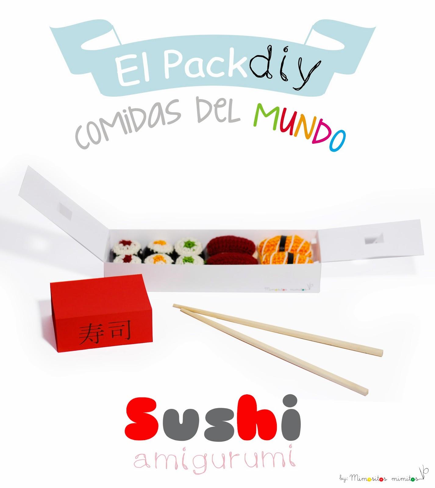El Pack - Comidas del mundo - Sushi