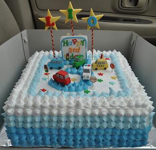 Ombre Birthday Cake - Lio