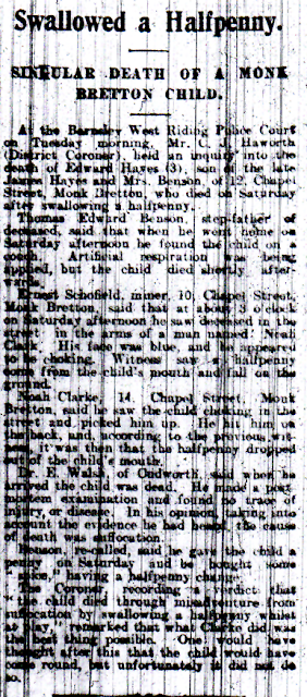 Newspaper Cutting: Text below