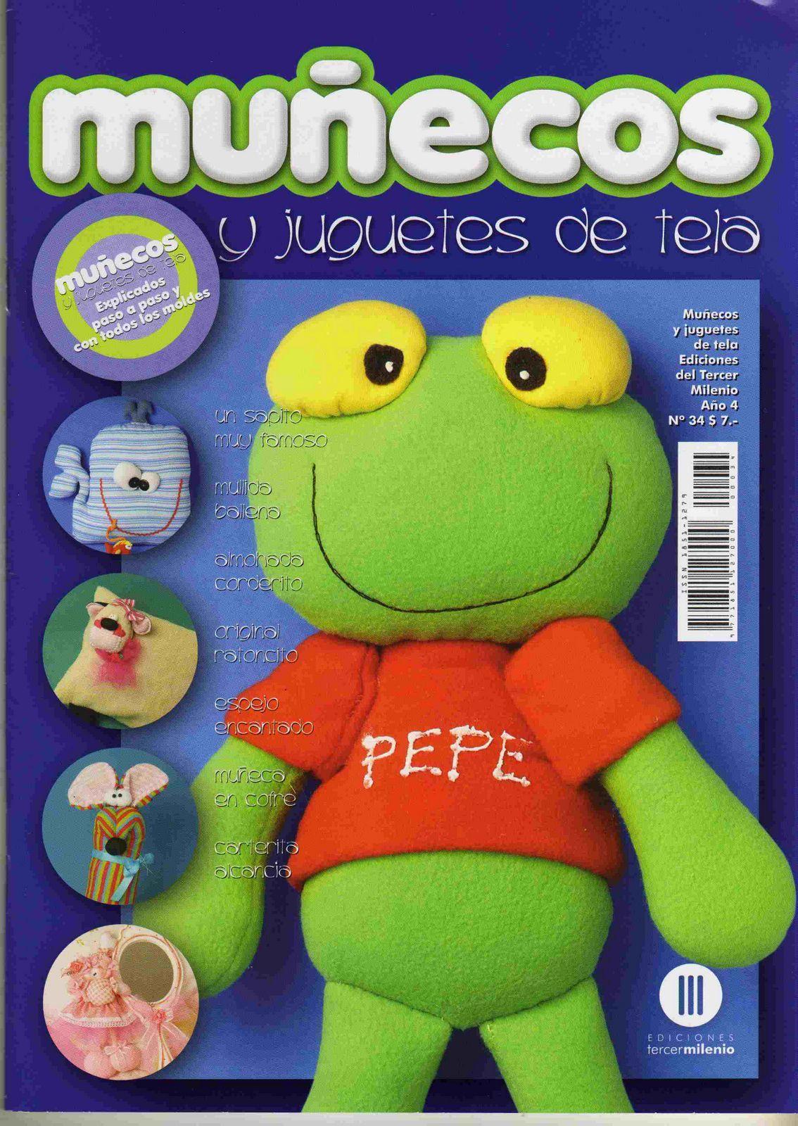 Sapo Pepe  Revistas  Goma Eva   Mu  Ecos   Juguetes