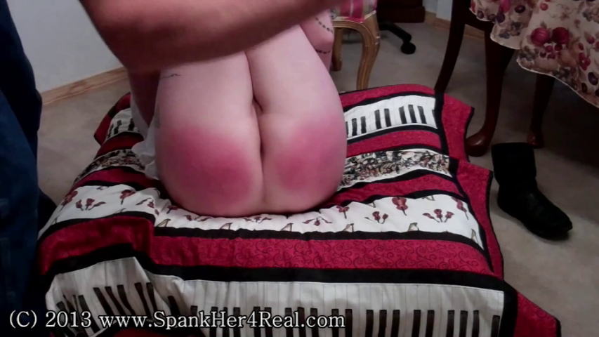 Spanked shaved and diapered