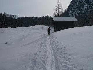 Freundliches Wetter in Ehrwald