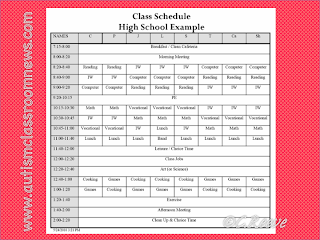 special education schedule template - search results for lesson plan template for special