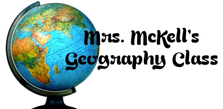 Mrs. McKell's Geography Class