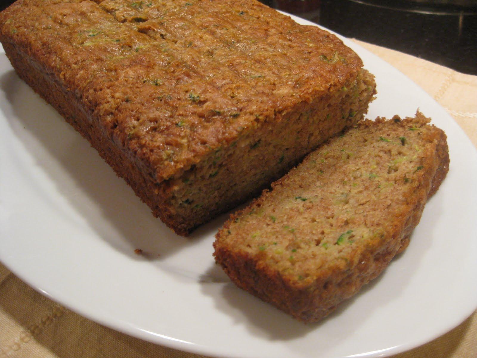 Pammi Cakes Recipes: Sweet Zucchini Bread Recipe