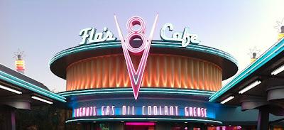 Flo's V8 Cafe Cars Land
