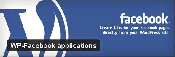 WP-Facebook applications Plugin