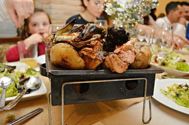 menú carnes brasa comida casera catering boda