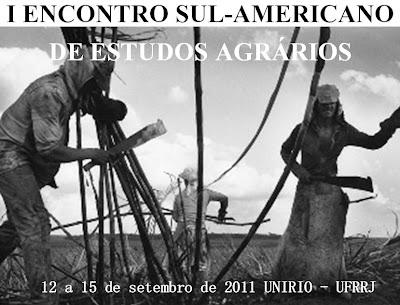 I ENCONTRO SUL-AMERICANO DE ESTUDOS AGRÁRIOS