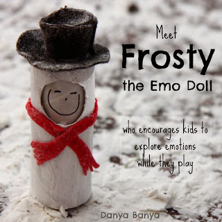 Meet Frosty the Emo Doll who encourages kids to explore emotions while they play
