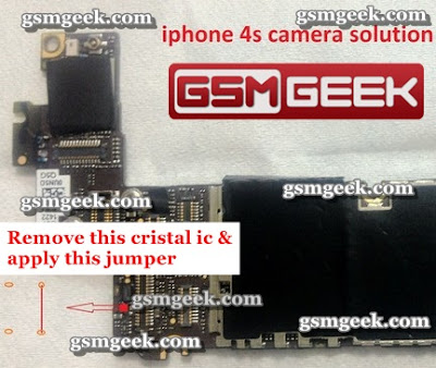 Apple Iphone 4s back camera solution