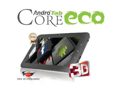 7 Inch Android 4.0 Tablet, Murah, Pixcom AndroTab Core ECO