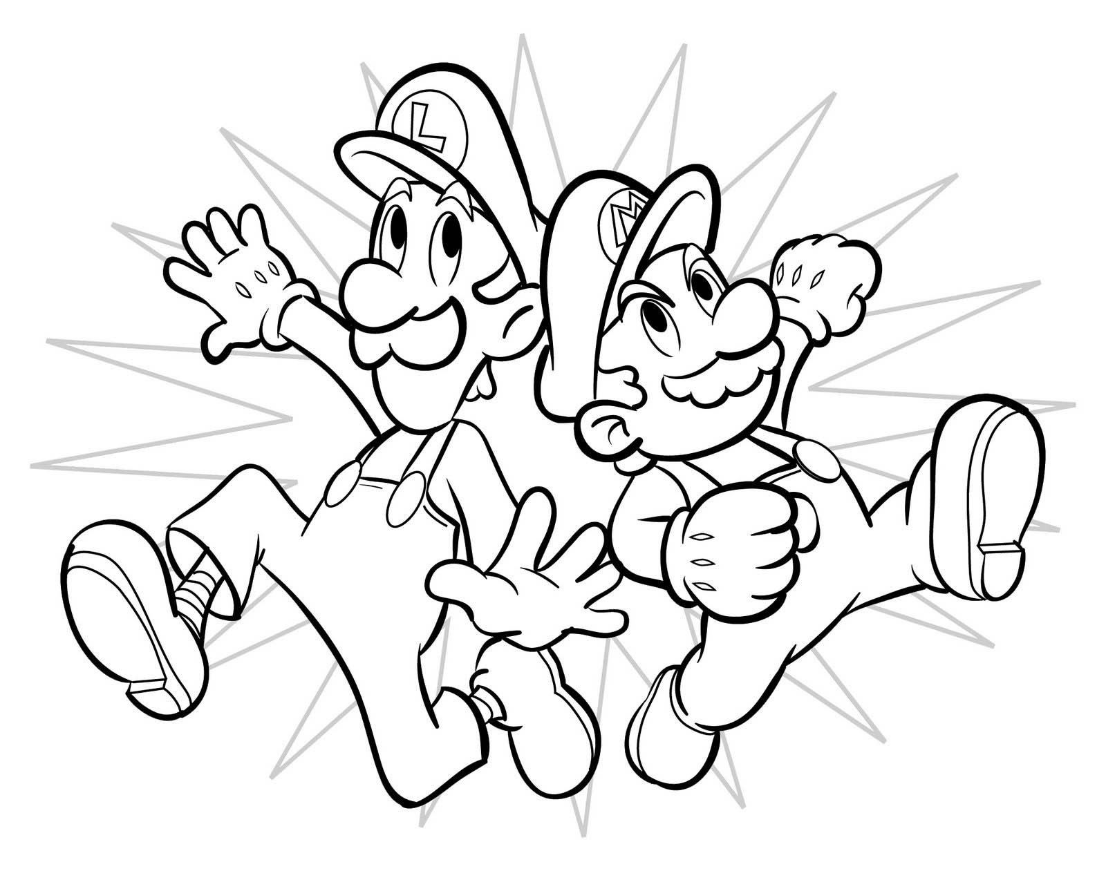 Coloring Pages Mega Blog Mario Bros Coloring Pages