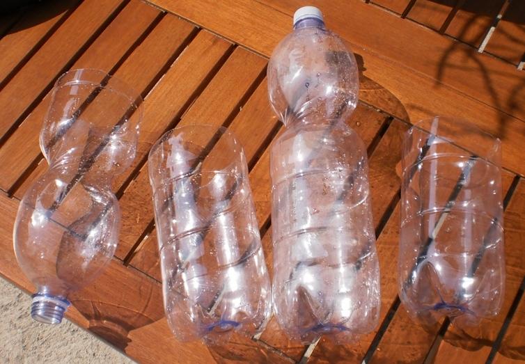 Sedia con bottiglie di plastica come farsi una poltrona di