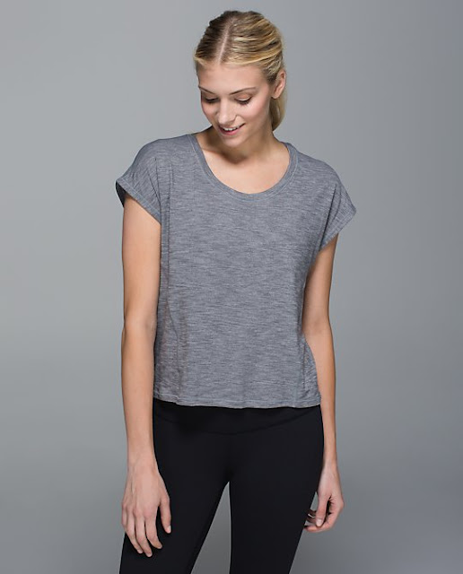 lululemon-sweaty-or-not crop-top gray