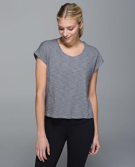 lululemon-sweaty-or-not crop-top gray