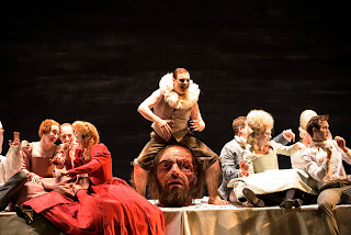 Benjamin Hulett & ensemble - Handel's Saul at Glyndebourne, photo Bill Cooper
