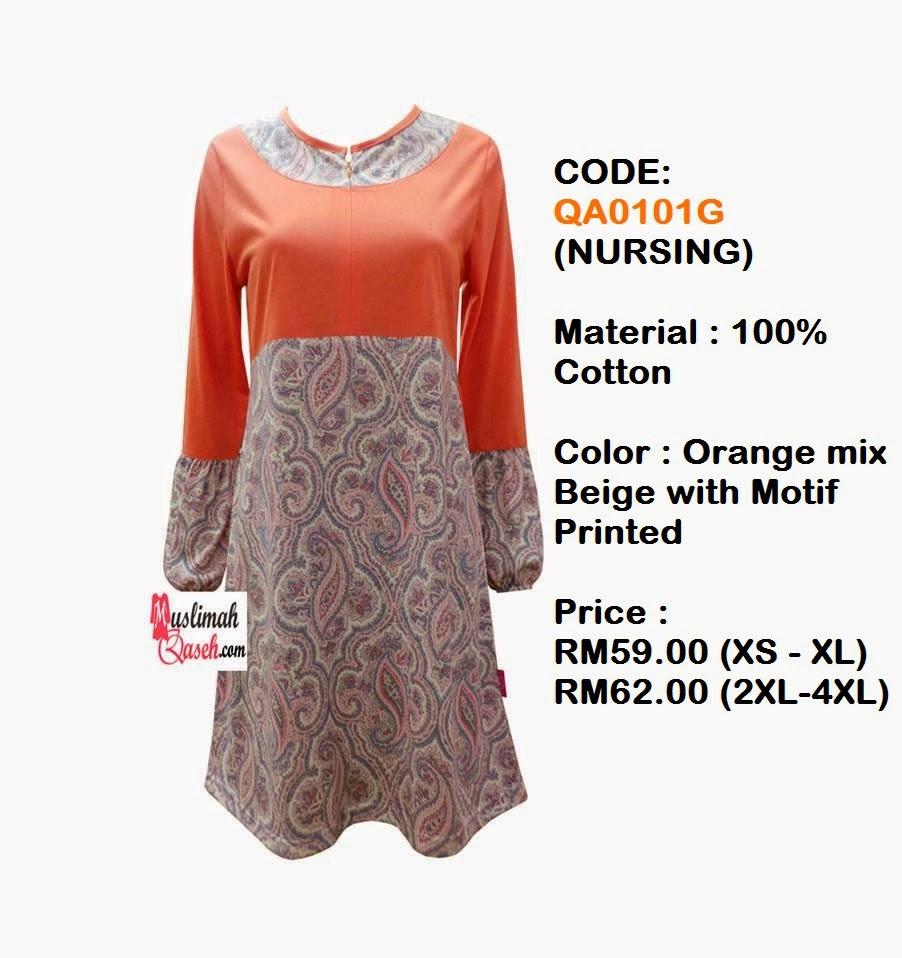 T-Shirt-Muslimah-Qaseh-QA0101G