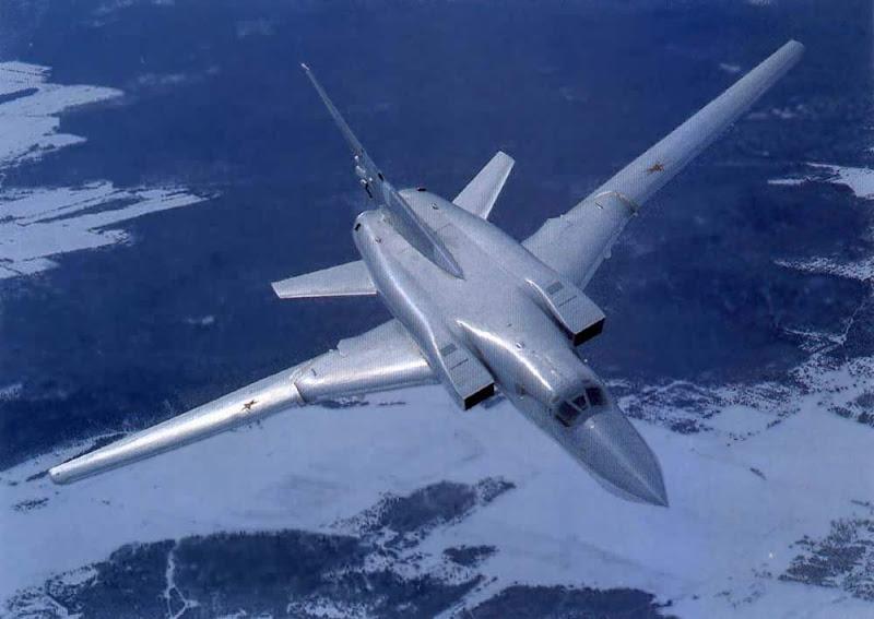 Tu-22 Blinder Soviet Supersonic Bomber